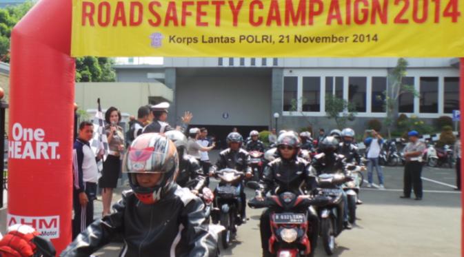 Para Jurnalis Otomotif Adakan Sosialisasi Safety Riding