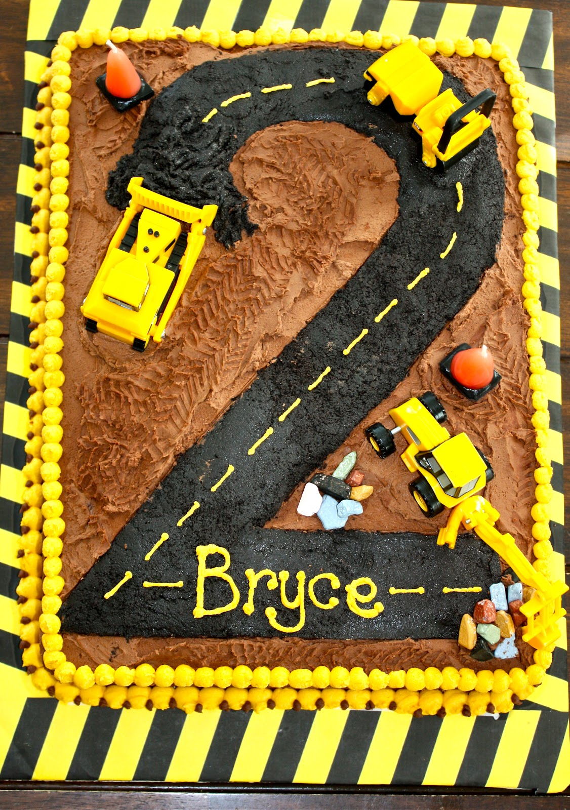Construction Site Sheet Cake Ideas And Designs