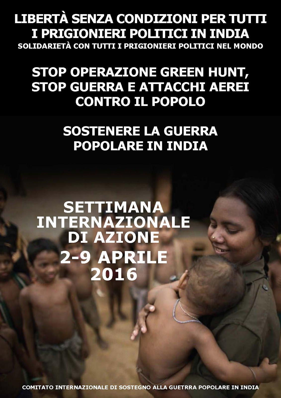 Campagna Internazionale di azione 2-9 aprile 2016
