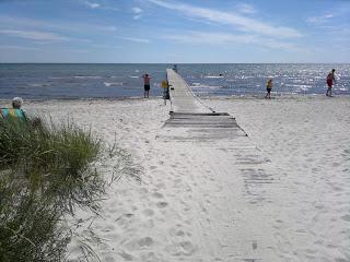 Skateholm strand