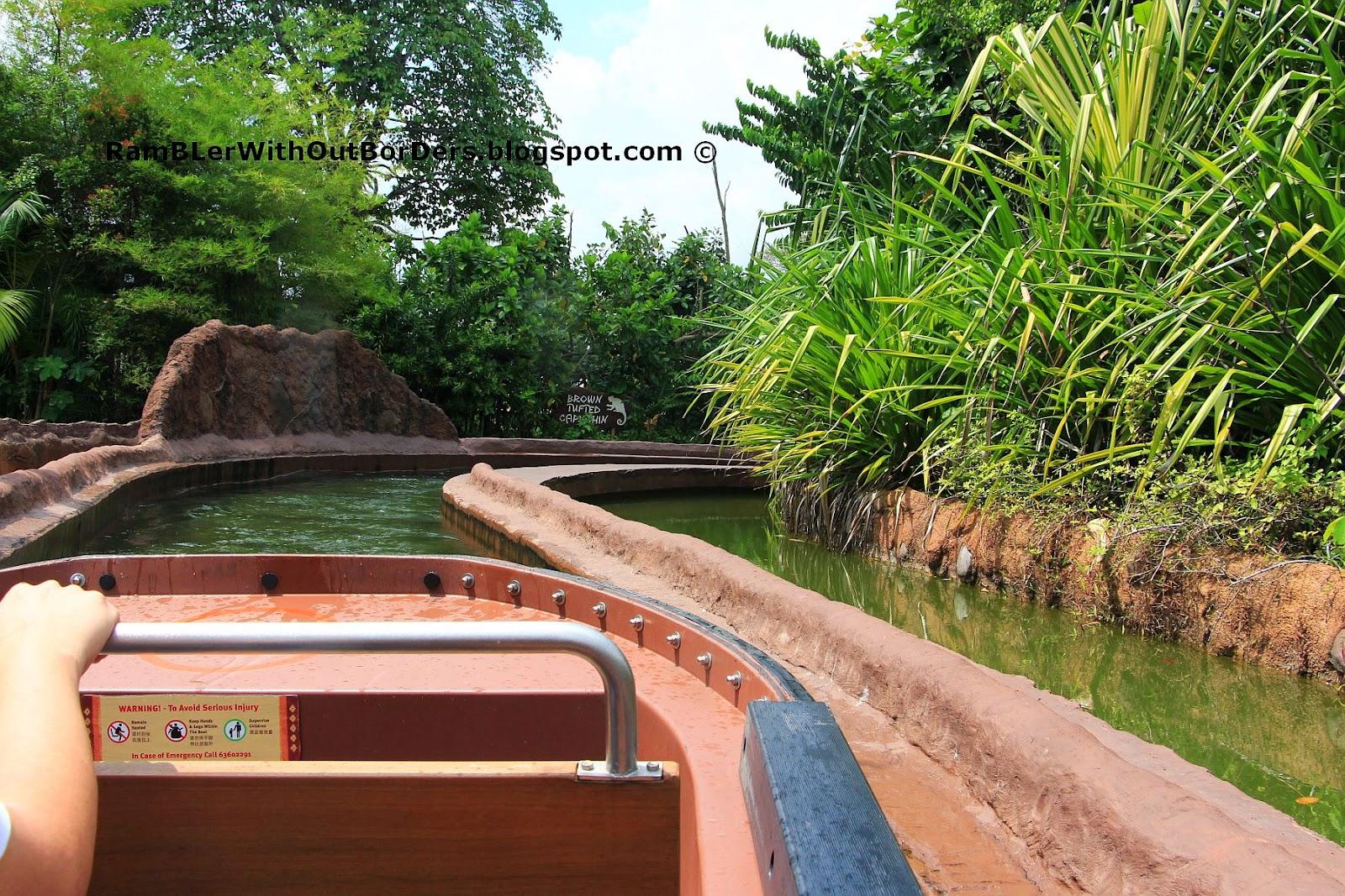 Amazon River Quest, River Safari, Singapore