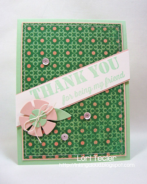Thank You for Being My Friend-designed by Lori Tecler-Inking Aloud-stamps from My Favorite Things