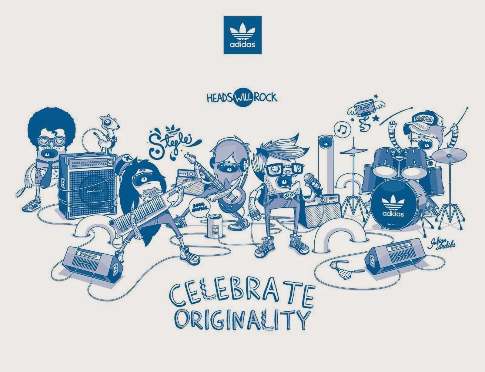 Adidas Originals Logo Wallpaper I Fashion And Style