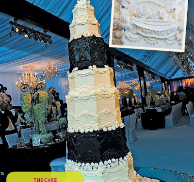 kardashian wedding cake