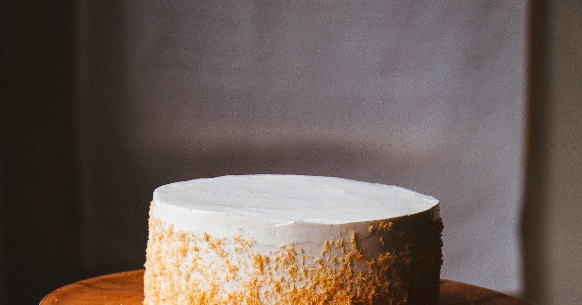 Coconut Pineapple And Passion Fruit Layer Cake Hint Of