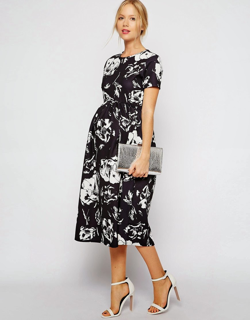 Mode-sty: In Bloom: Floral Maternity Dress Finds