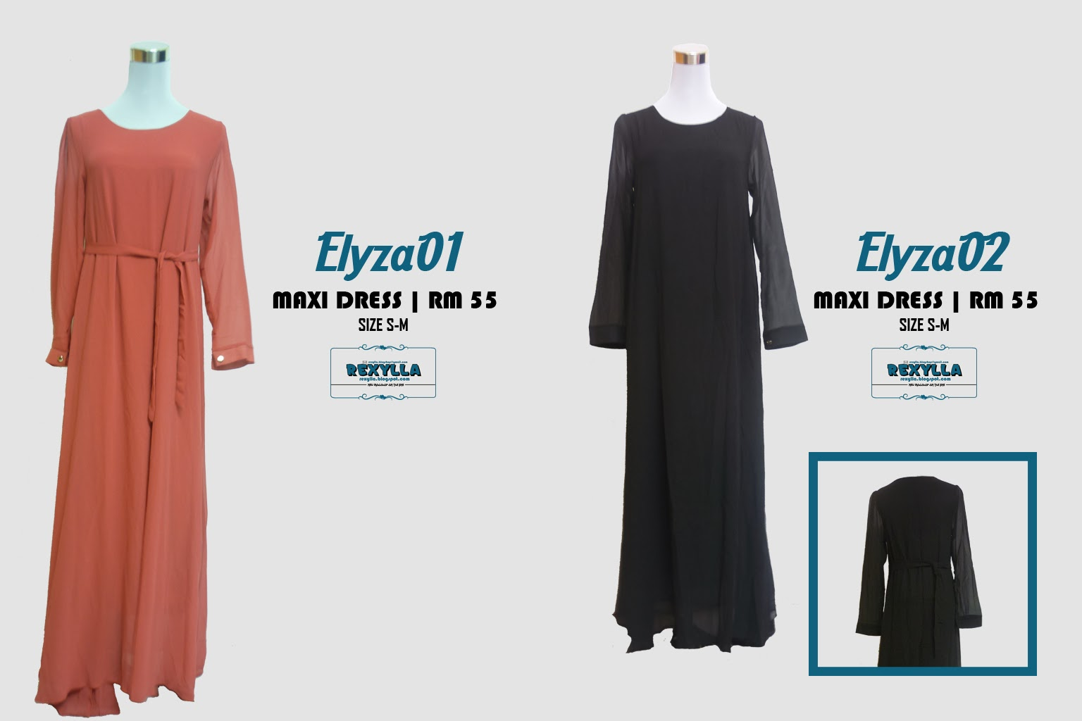 rexylla, maxi dress, plain