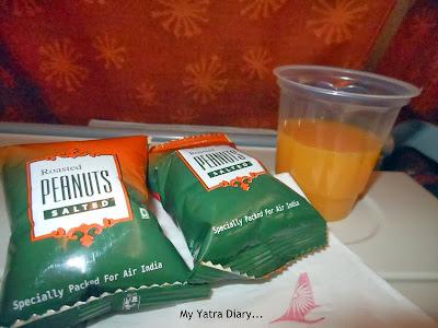 Flight food - Air India