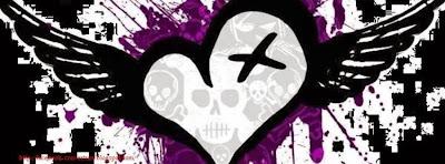Couverture facebook emo avec coeur