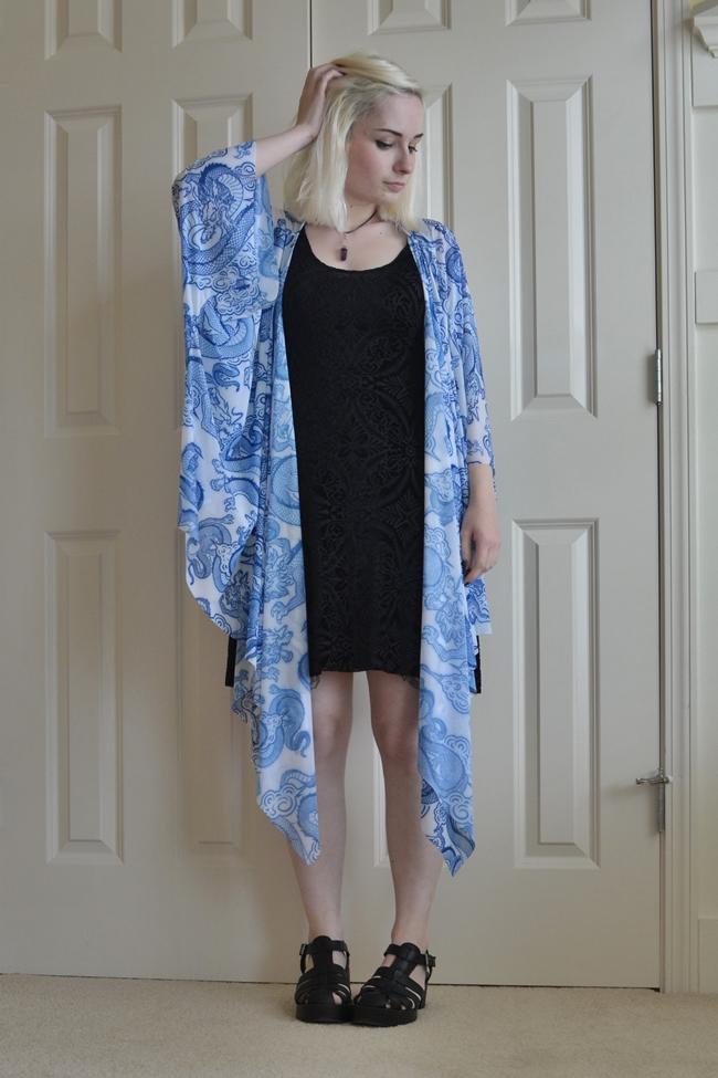 blackmilk kimono burned velvet outfit ootd summer