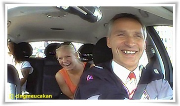 Jens Stoltenberg Membayar Penumpang Taksi 850 Ribu