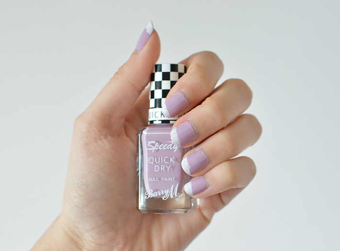 Barry M Speedy Quick Dry Nail Polish in Lap of Honour Review