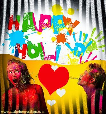 Happy Holi [6 March] festival Greeting cards HD