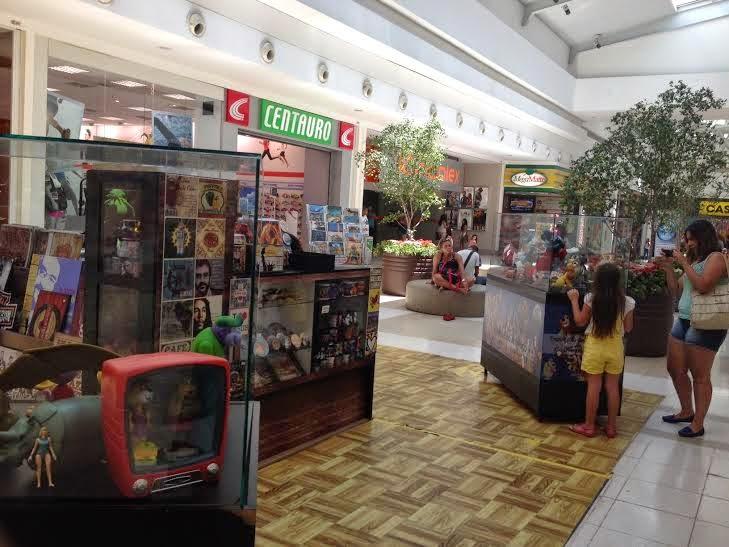 Shopping Grande Rio apresenta exposição de personagens de desenho animado