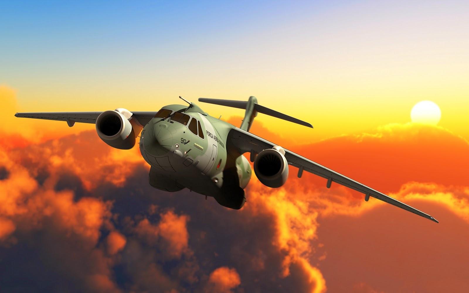Jato KC-390 Poderá Voar Já em 2016
