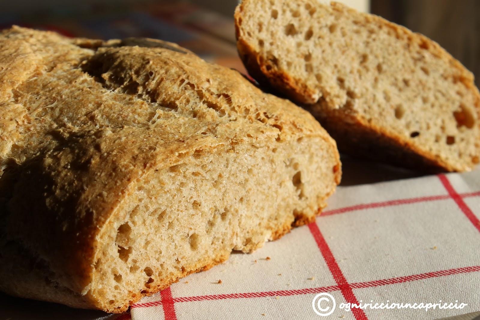 pane integrale, quello facile!