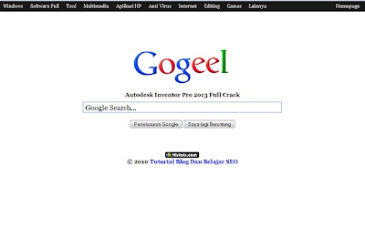 Template Mirip Google