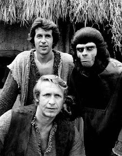 Imagen de la serie de TV el Planeta de los Monos