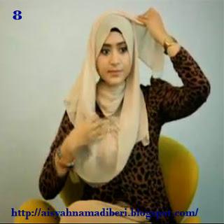 Cara Memakai Jilbab Kreasi Jilbab Sifon Segiempat Untuk Acara Formal Simple