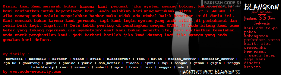 CYBER CRIME ( ANONYMOUS HACKER INDONESIA )
