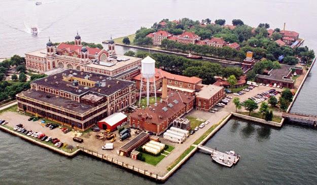 Visita a Ilha Ellis em Nova York