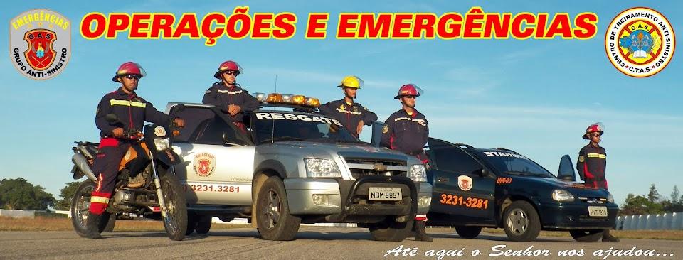 BOMBEIRO CIVIL / BRIGADA DE INCENDIO / SOCORRISTA - GRUPO ANTI-SINISTRO.