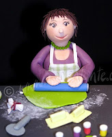 Modellierfondant tortentante