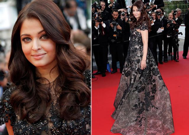 Aishwarya Cannes 2013 in Elie Saab couture
