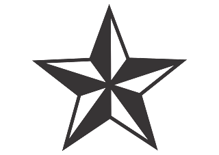 Nautical Star Logo Vector download free