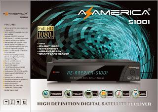 Nova Atualização Azamérica s1001. Data: 26/12/2013. S1001+azamerica+by+snoop+eletronicos