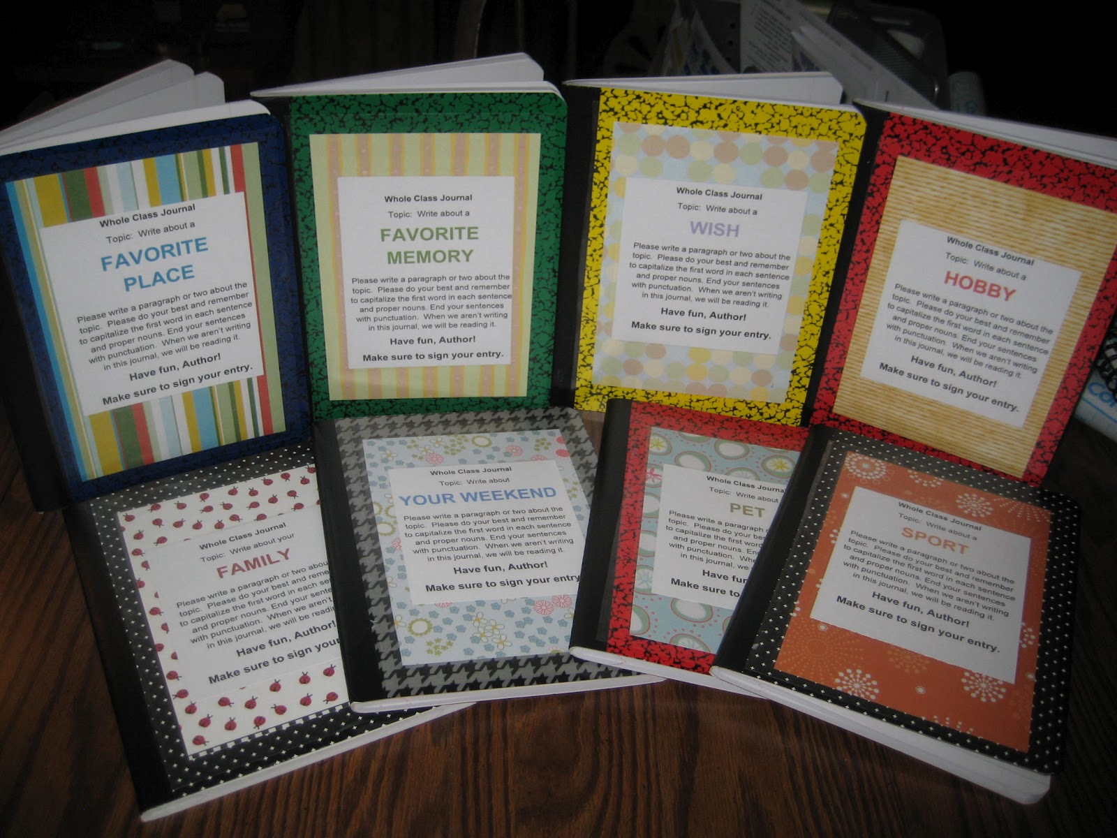 Classroom Journal Ideas ~ Day s class notes a dozen ideas for the classroom and i