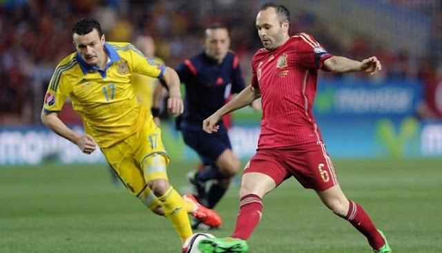Ver partido España vs Ucrania en vivo