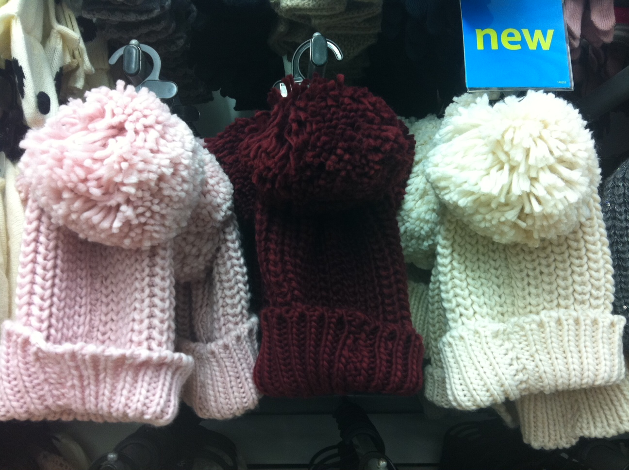 As readers may know I love a pom pom so had to sneak a couple of these  Florence + Fred chunky knit eeaeb1c25