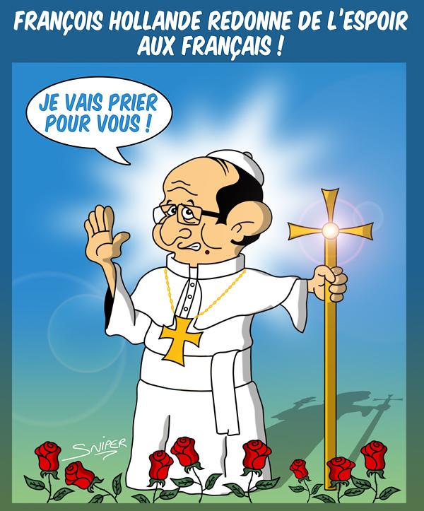 Avec François    les français attendent un MIRACLE !