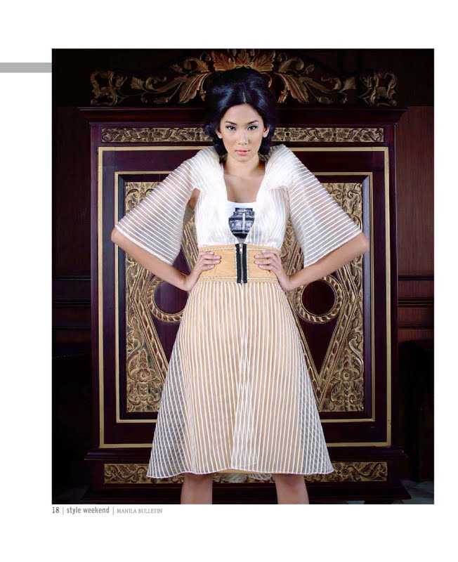 Pictures of Modern Filipiniana Dresses http://projectnanivon.blogspot.com/2011/11/supermodel-samantha-gomez-in-modern.html