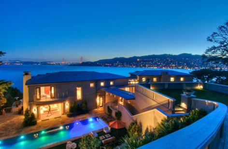 Spend like a king san francisco s villa belvedere for Mansions in san francisco for sale