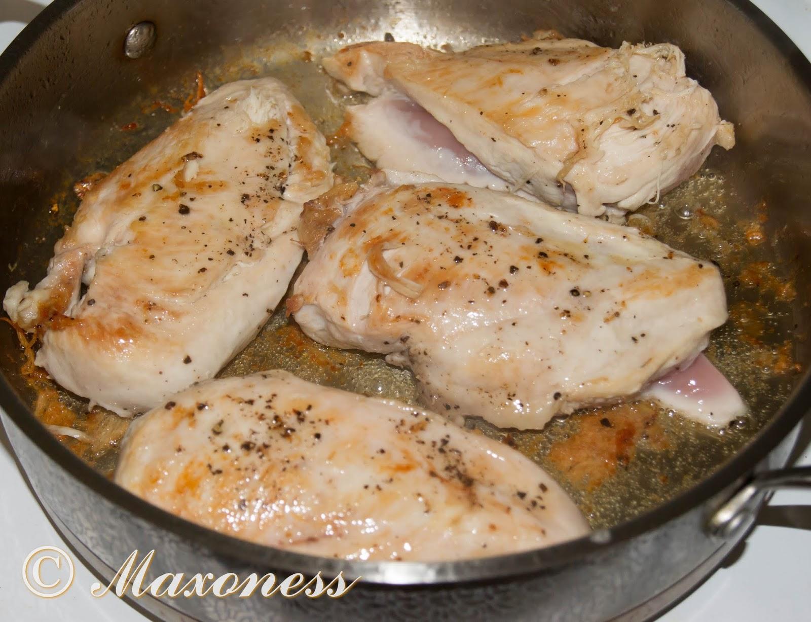 Рецепты из курицы на сковороде фото пошагово