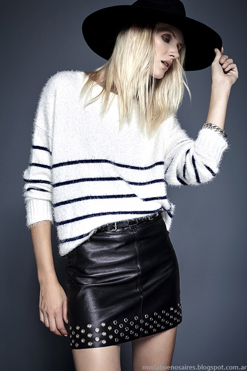 Kosiuko otoño invierno 2015. Moda sweaters invierno 2015