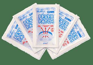 Fever Patch Plester Penurun Demam Dari Rohto Untuk Si Buah Hati