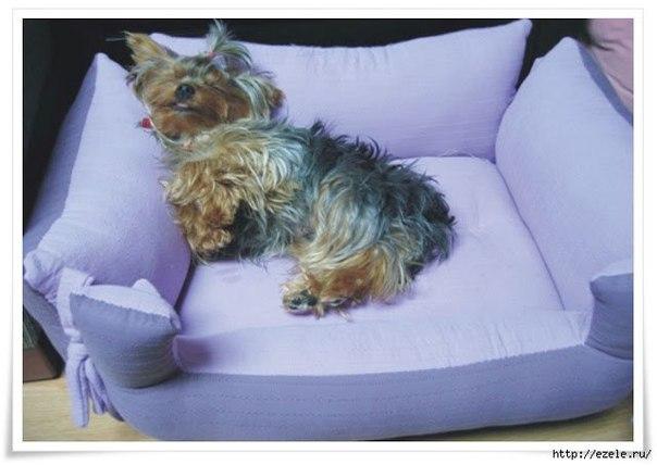 Camita para perros o gatos modelo 2 mundo feliz - Como hacer una cama de perro ...