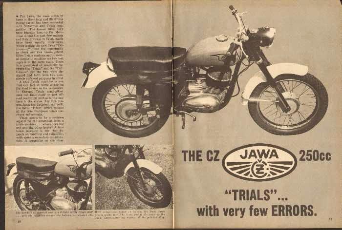 Reklama Jawy w gazecie (USA)