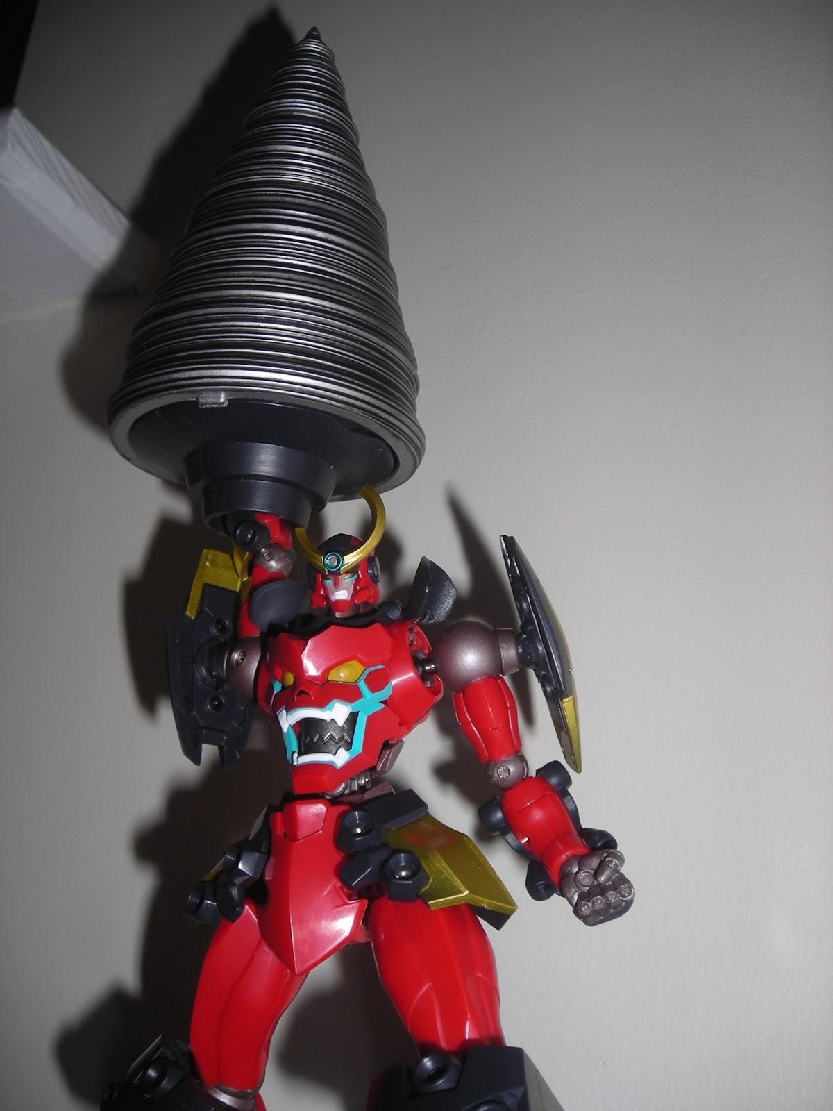 Gurren Lagann Robot Drill
