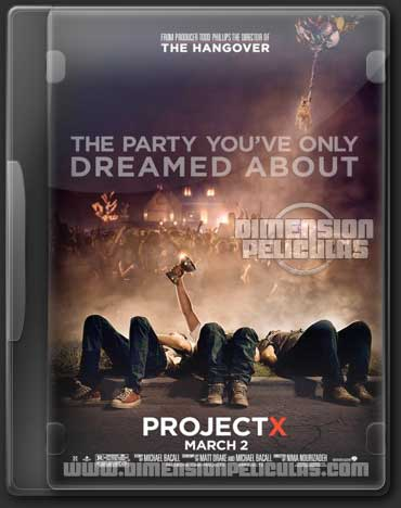 Project X (Extended BRRip HD Ingles Subtitulado) (2012)