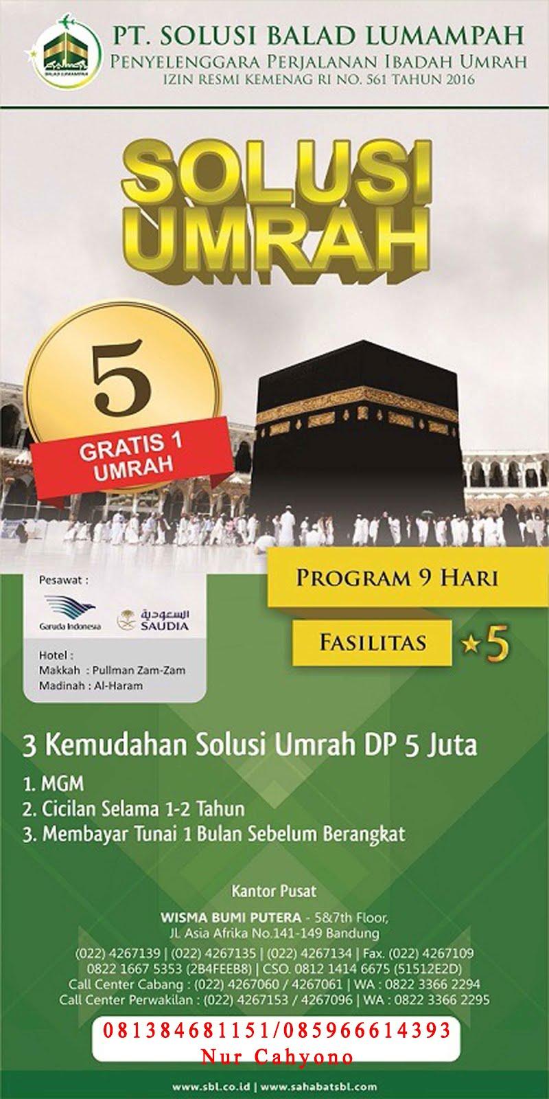 Memberangkatkan Umroh, Haji Plus