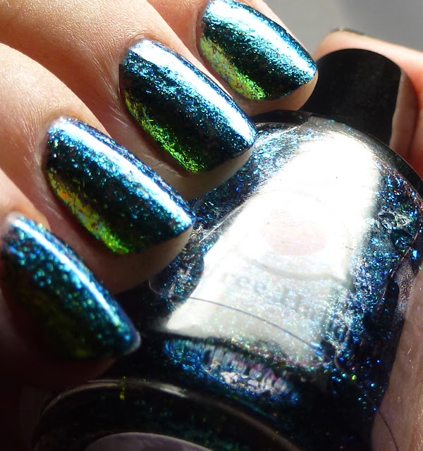 Pretty Jelly Nail Polish Foxfire