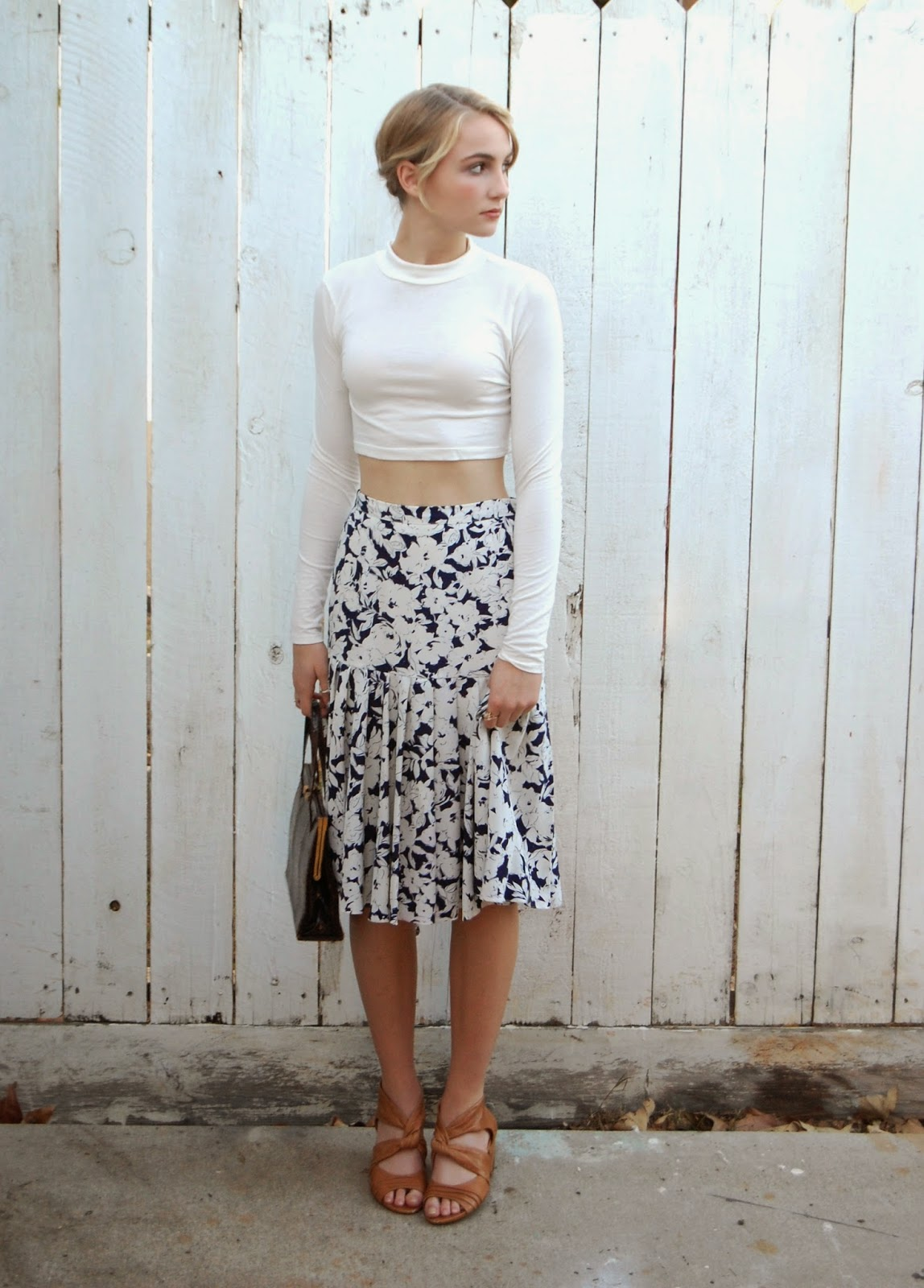 Anthropolotique Tied Up Shirt The User Friendly Crop Top
