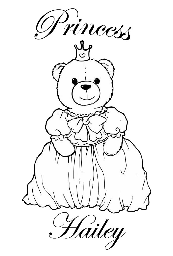 hailey coloring pages - photo#4