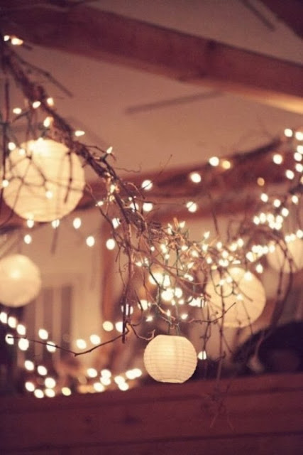 Very best pinterest pins rustic country wedding lights for Decoration 4 wedding