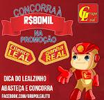 Promoção da Rede de Postos do Grupo Leal, Cliente Leal, Ganha Real.