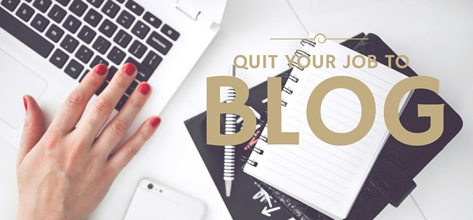 Quit your Job to Blog e-course by Helene In Between